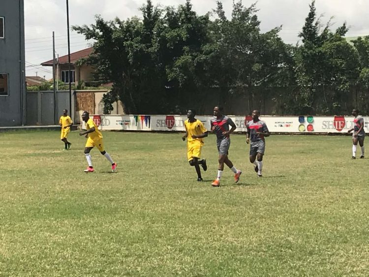 LIVE PHOTOS: Happy FM Corporate KNOCKOUT Challenge heats up as Baffour Gyan, Pusher, Twum, Salam Yakubu, Baba Gedo, Others take centre stage