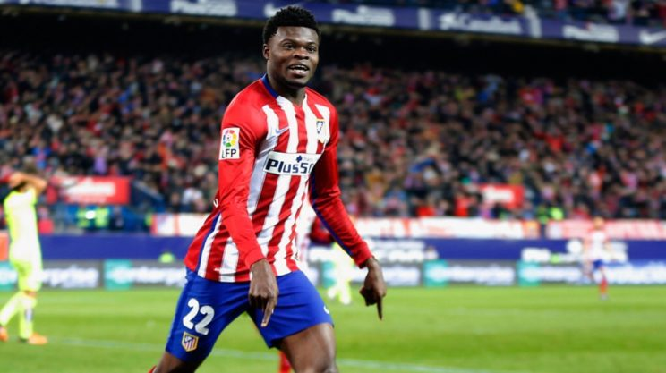Partey stars at right back as Atletico Madrid edge AS Roma