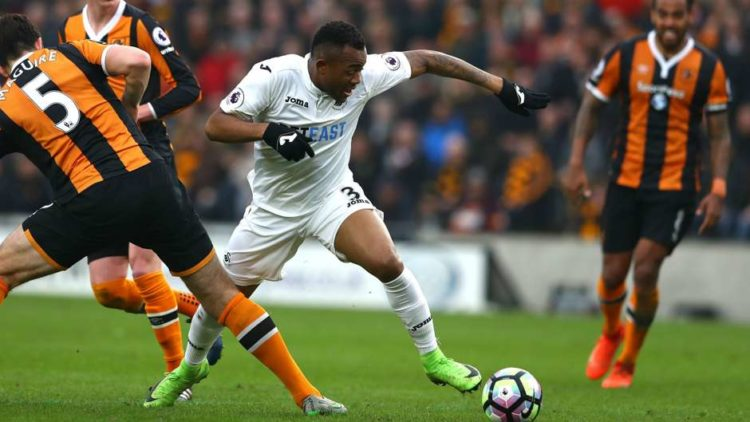 Jordan Ayew tops English Premier League sprint chart after 16 matches