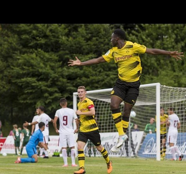 Dortmund Starlet Kyeremateng hopes to play for Ghana 'soon'