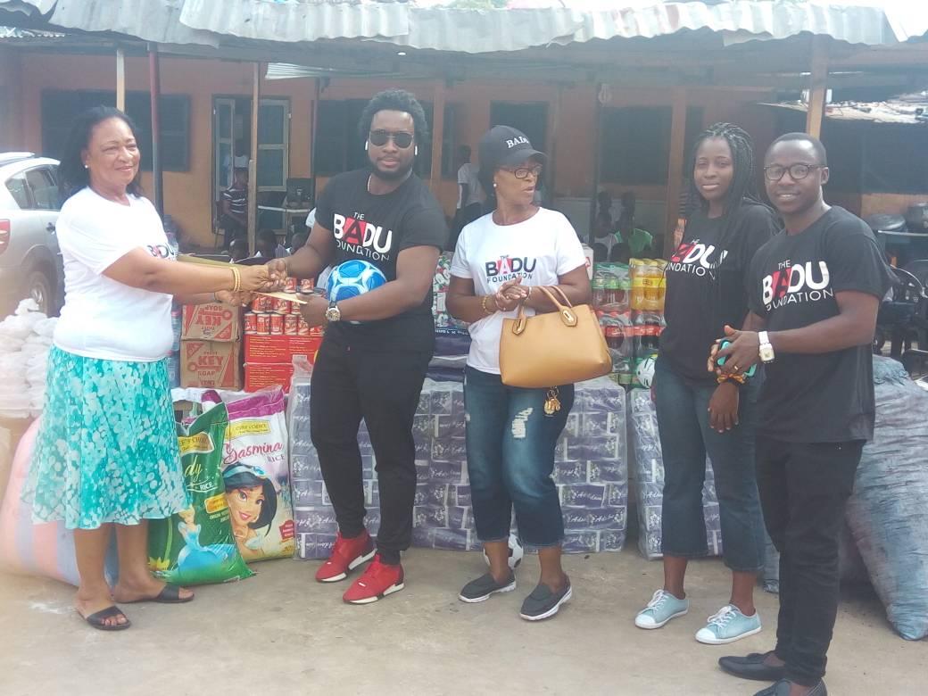 Sonie Badu foundation adopts orphanage in Darkuman