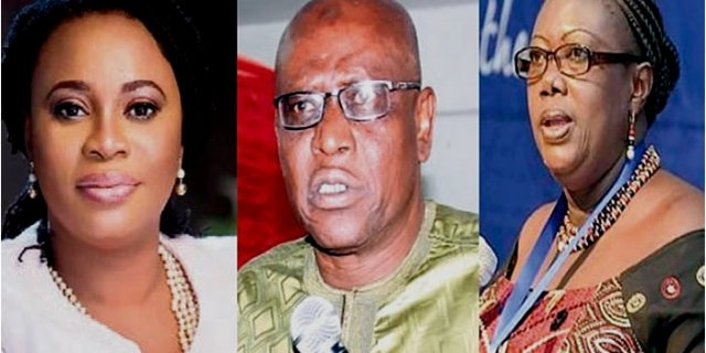 What is NDC's motive in supporting Charlotte Osei-Omari Wadie Quizze?