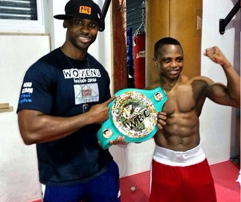 Team Dogboe return to Ghana to continue preparations for January 6 clash