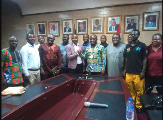 Ghana Armwrestling Federation meet Accra Mayor On July Championship