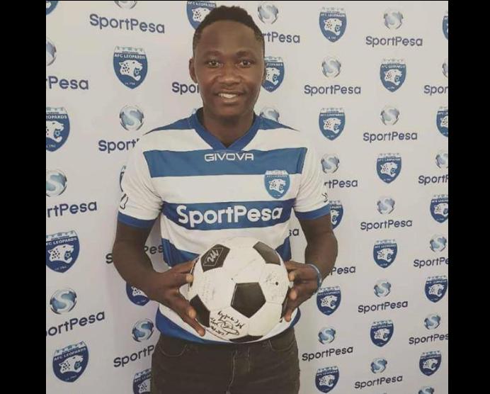 Eric Bekoe Joins Kenyan Giants Leopard FC