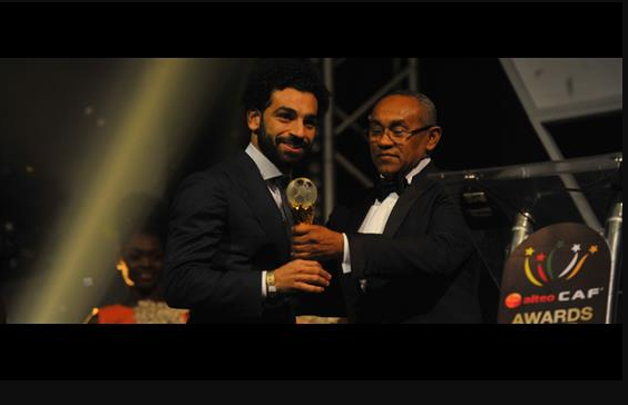 Mohammed Salah Scoops 2017 CAF Player of the Year Award