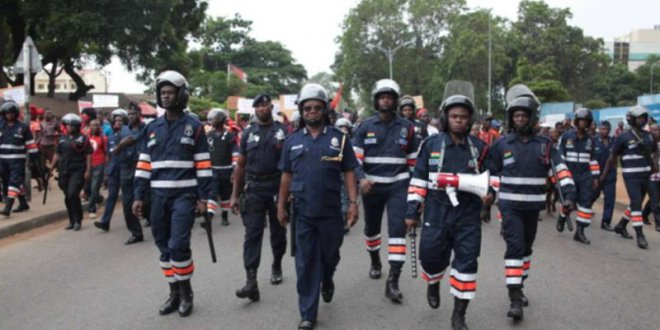 Police foil robbery at Koforidua