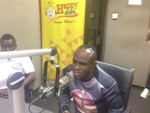 Azumah Nelson abandoned me before I mounted ring against George Ashie- 'Game Boy'