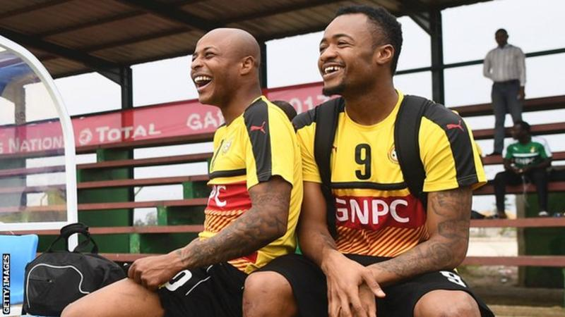 Andre Ayew returns to Swansea to reunite with Brother