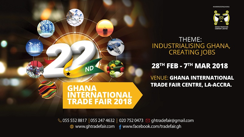 22nd Ghana International Trade Fair Ready To Take Off