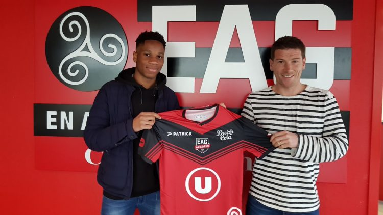 Drogba's teenage son signs for Guingamp