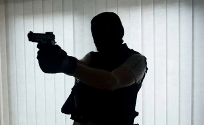 Armed robbers shoot mobile money vendor at Bomso