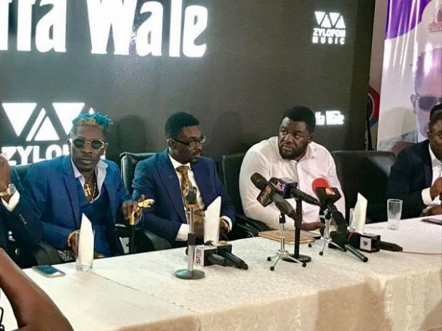 How Shatta Wale's Manager, Bulldog, others caused confusion at Zylofon unveiling