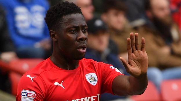 Ghana defender Andy Yiadom targets Barnsley survival amid Leeds United interest