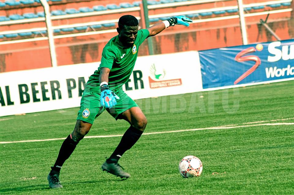 Enyimba FC goalie Fatau Dauda counting on experience to overcome Bidvest Wits in CAF Confederation Cup