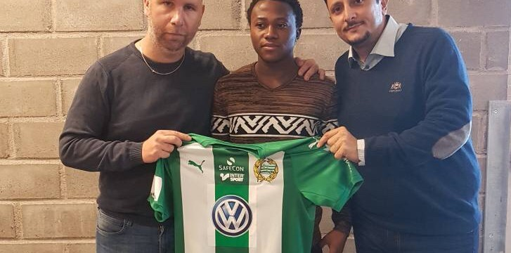 Ghanaian youngster Halik Hudu joins Swedish side Hammarby IF