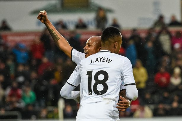 Former England Midfielder Danny Murphy Lauds 'Tenacious and Endeavour' Ayew Brothers in Swansea Win Over West Ham