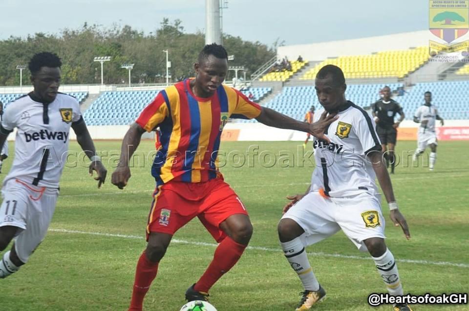 Ghana Premier League Week 2 Wrap up: Hearts stutter at home as Kotoko, WAFA, Bechem claim wins