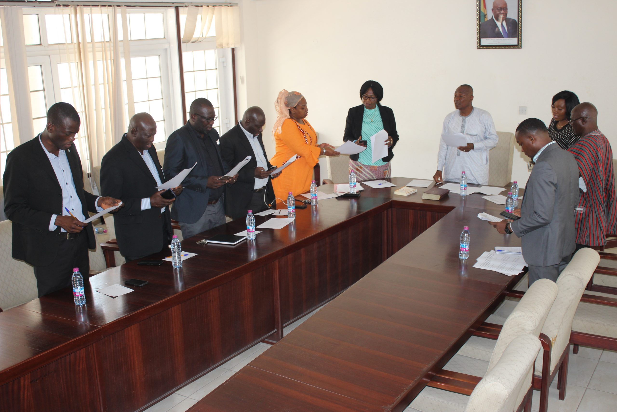 Zongo ministry entity tender committee unveiled