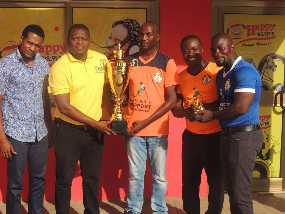 Ghana Amputee Trophy Tour lands in Happy FM