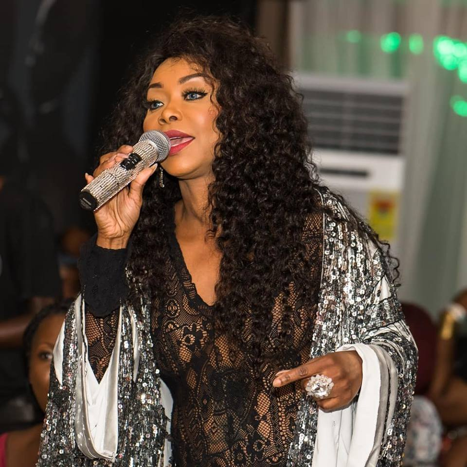 Stephanie Benson Serenades Patrons at YFM's Boss Ladies Club