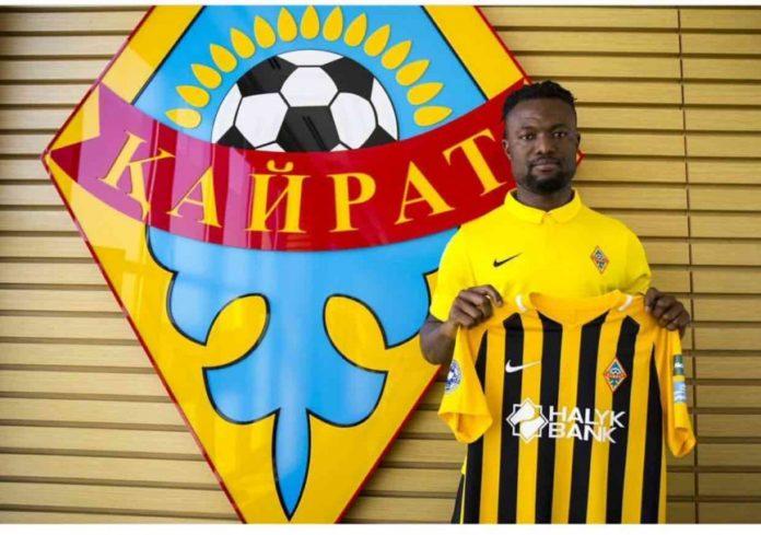 Gideon Baah joins Kazakh giants FC Kairat Almaty