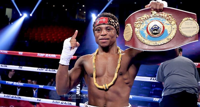 EXCLUSIVE: Isaac Dogboe seals one-year deal with Top Rank Boxing Promotion