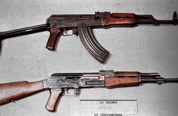 Three policemen interdicted for selling AK47 rifle to civilian