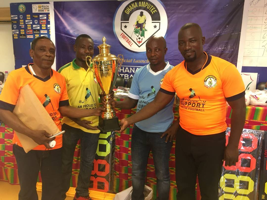 Maiden Ghana Amputee Football League launched