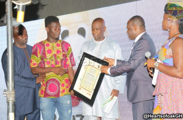 Hearts of Oak's Winful Cobbina wins MTN FA Cup Most Valuable Player