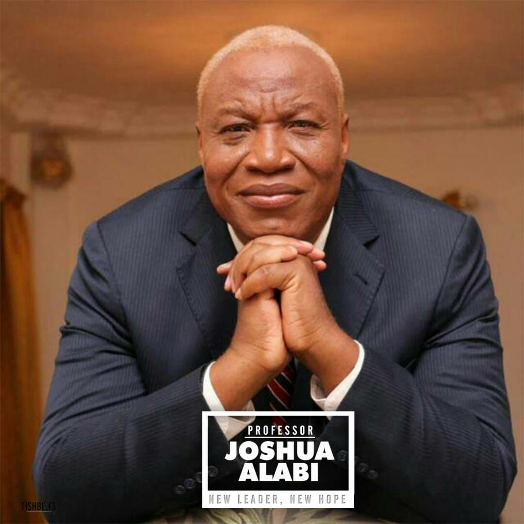 Jail politicians who steal state funds - Prof. Joshua Alabi