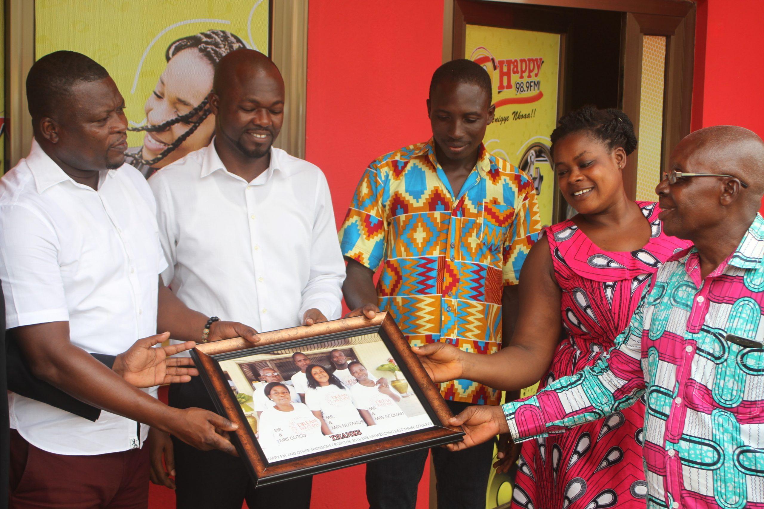 PHOTOS: DREAM WEDDING couples show appreciation to Happy FM