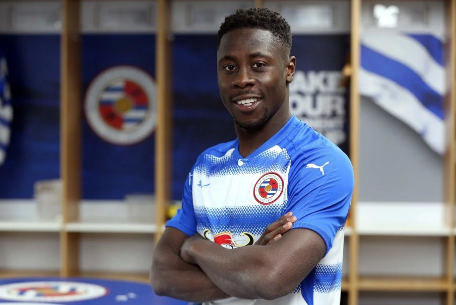JUST INN: Ghana defender Andy Yiadom joins Championship side Reading on four-year deal