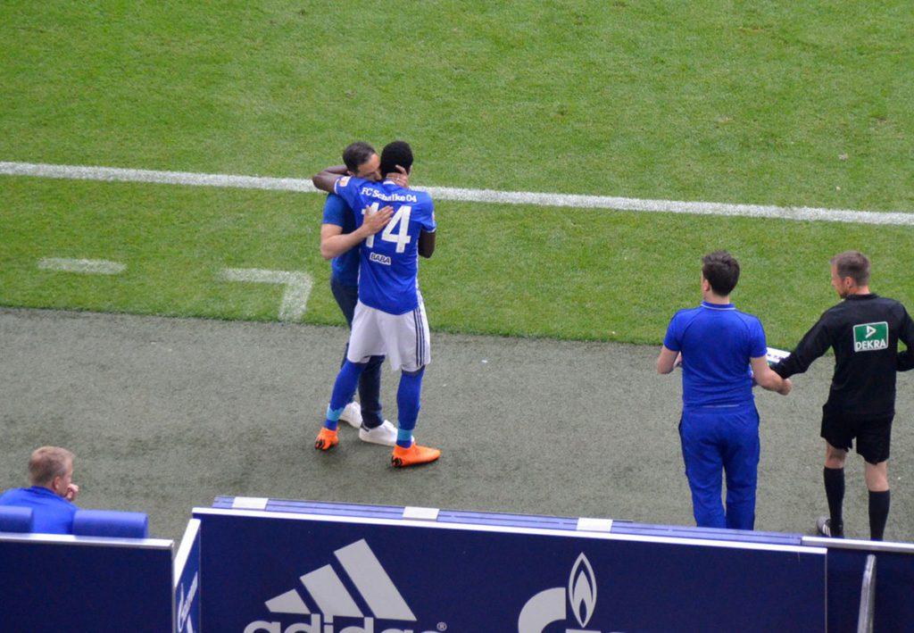 Ghana's Baba Rahman ends injury nightmare by returning to action for Schalke in Bundesliga