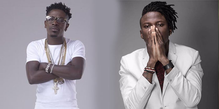 Stonebwoy discloses the conditions under which he will collaborate with Shatta Wale