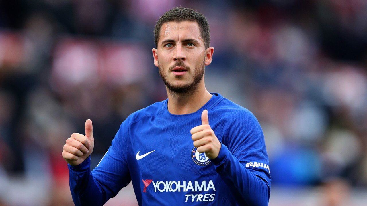 Hazard Gifts Rebecca Akufo-Addo with Signed Chelsea Jersey