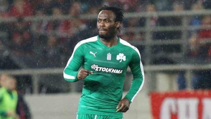 Ghana's Michael Essien costs Panathinaikos three points