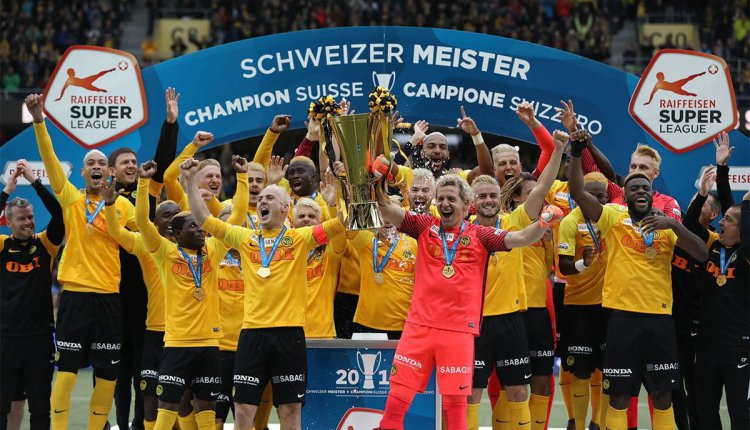 Ghana's Kasim Nuhu crowned champion in Switzerland with BSC Young Boys