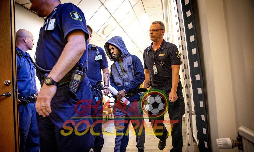 SAD: Ghana international Kingsley Sarfo RAPE trial gets underway; faces 10-year jail sentence