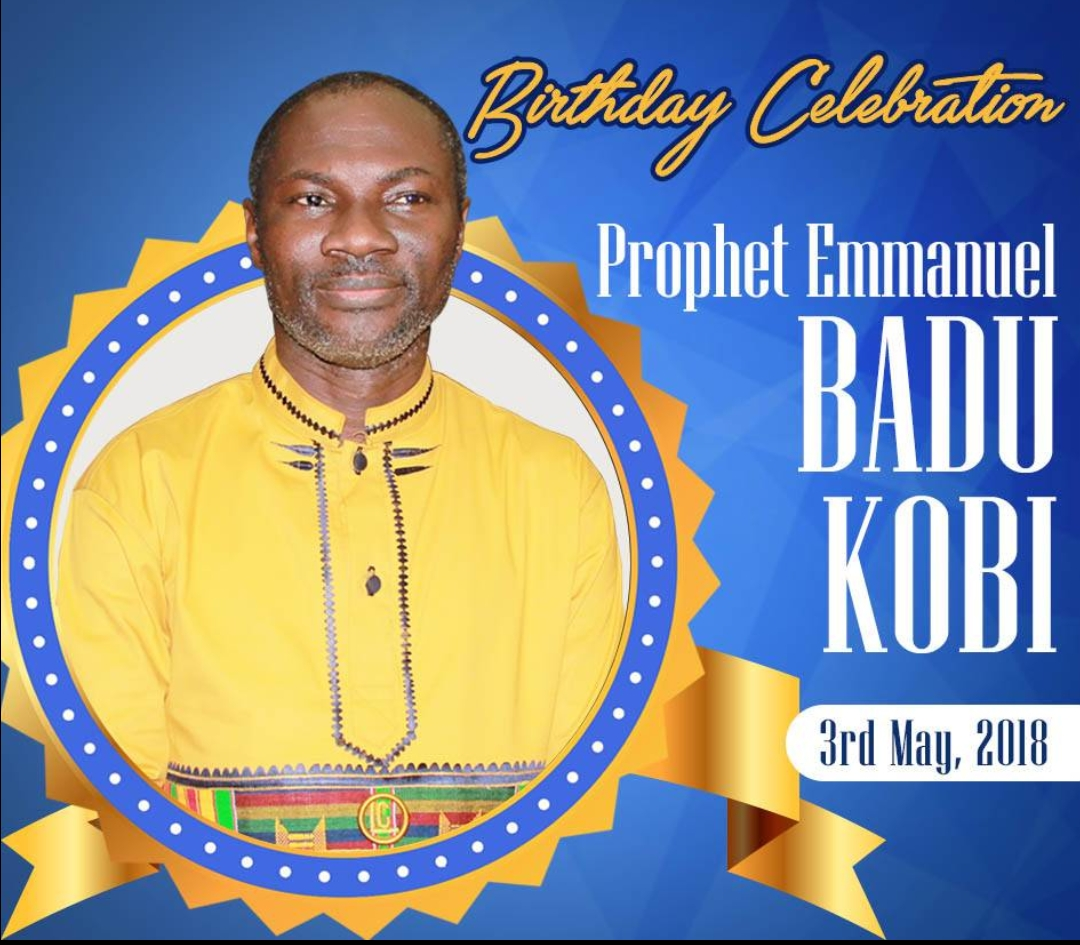 Ghana to celebrate Prophet Emmanuel Badu Kobi on May 3