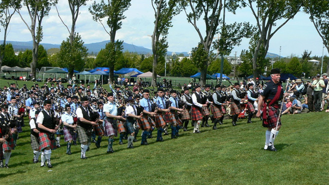 Victoria Highland Games & Celtic Festival