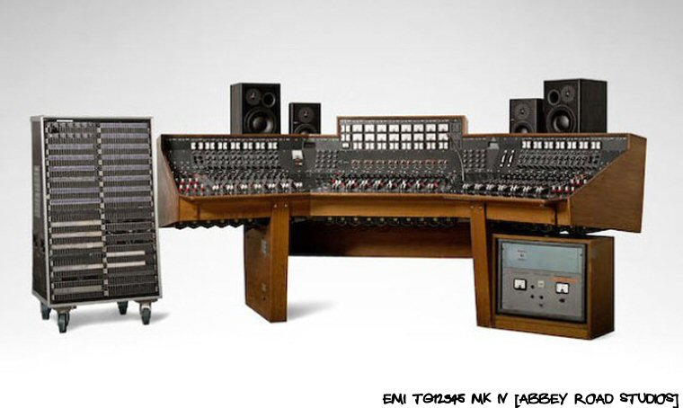 Pink Floyd's Dark Side Of The Moon Recording Console:  SOLD To That Gentleman Or Lady Over There With A Ton Of Money