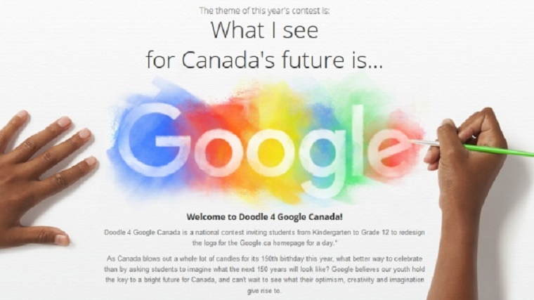 Google Invites Canadian Students To Build The 150 Doodle