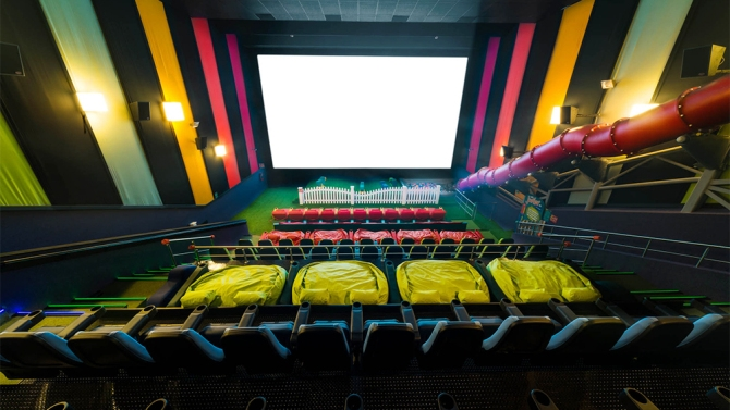 Jungle Gyms in Movie Theaters?