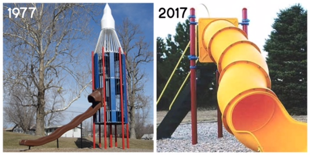 Playgrounds: Now & Then