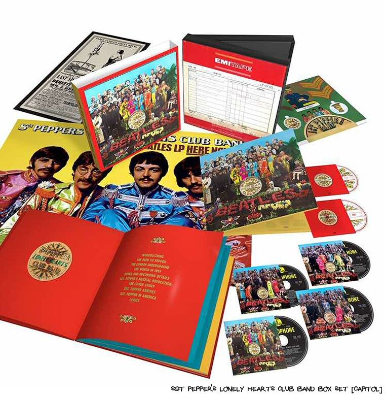 Sgt. Pepper Gets The Super Deluxe Reissue Treatment At 50