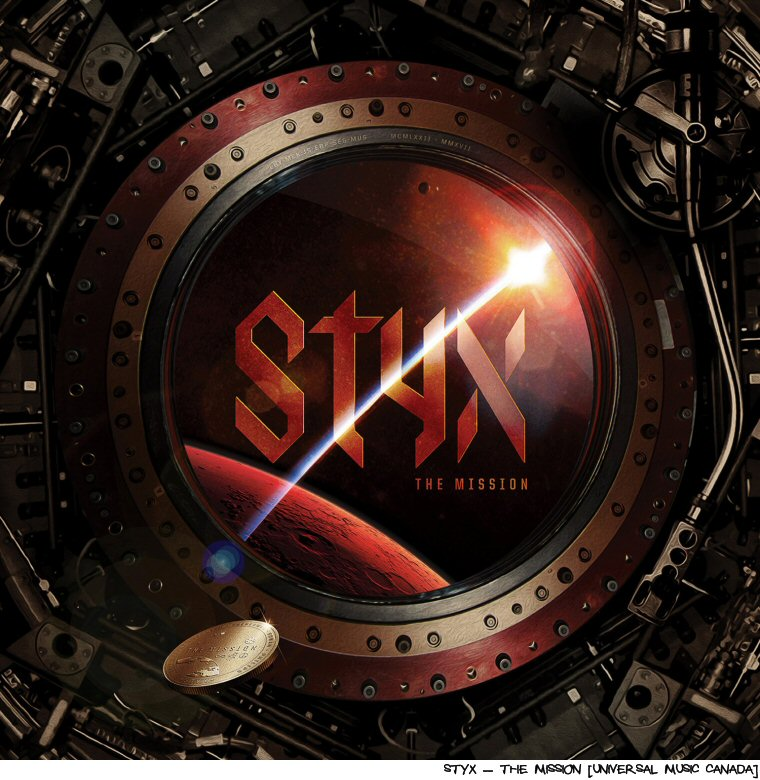 Styx Make New Music, 400,726,656 Kilometers From Home