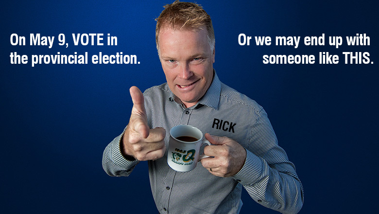 On May 9, VOTE. Or we may end up with someone like THIS: Rick Aldridge.