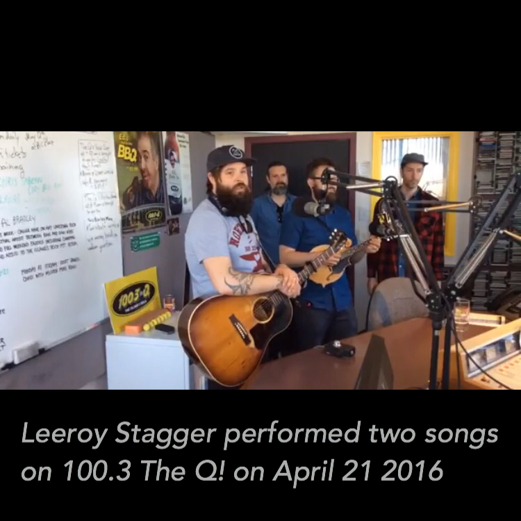 Q! interview: Leeroy Stagger (2 songs performed)