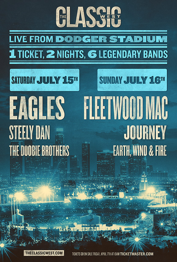 'Classic West' and 'East': Eagles, Fleetwood Mac, Journey and others